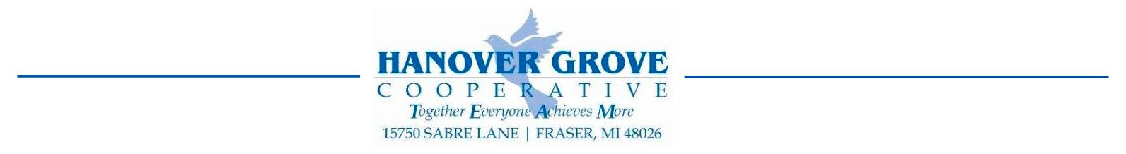 Hanover Grove Cooperative